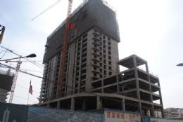 百家新城先锋苑实景图(2013.03.10)