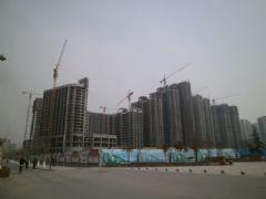 金世纪花园工程进度(2013.03.21)