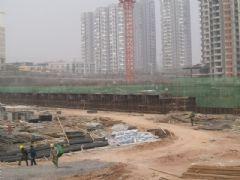 锦绣江南3#楼在做地下(2013.04.01)