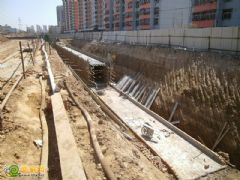 盛瑞华庭工地实景(2013.04.09)