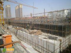 宝利大厦工地实景(2013.04.13)