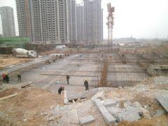 锦绣江南车库工地实景(2013.04.22)