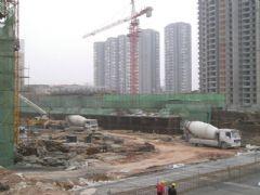 锦绣江南3#楼工地实景(2013.04.22)