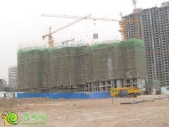 锦绣江南1#楼工地实景(2013.05.17)