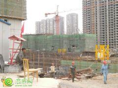 锦绣江南3#楼工地实景(2013.05.17)