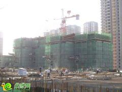 锦绣江南1#楼工地实景(2013.05.30)