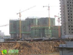 锦绣江南1#楼、3#楼工地实景(2013.05.30)