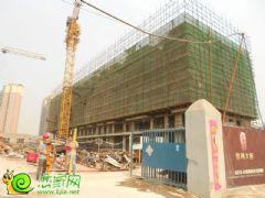 宝利大厦住宅工地实景(2013.06.13)