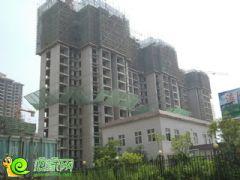 锦绣江南1#楼工地实景(2013.06.26)