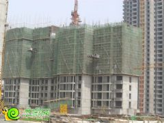 锦绣江南3#楼工地实景(2013.06.26)