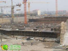 宝盛花语城2#3#楼工地实景(2013.07.03)