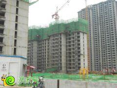 锦绣江南3#楼工地实景(2013.07.15)