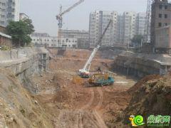 盛锦花园工地实景(2013.07.24)