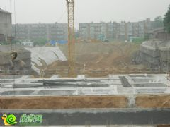 盛锦花园工地实景(2013.08.02)