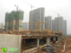 锦绣江南工地实景(2013.08.03)