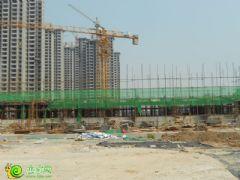 锦绣江南在建幼儿园工地实景(2013.08.20)