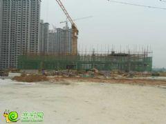 锦绣江南在建幼儿园工地实景(2013.08.31)