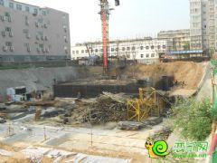 盛锦花园工地实景(2013.09.06)
