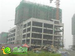 宝盛花语城3#楼工地实景(2013.09.13)