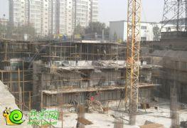盛锦花园7#楼工地实景