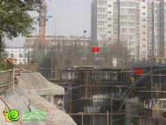 盛锦花园7#8#楼工地实景