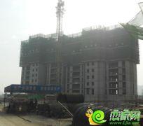 锦绣江南23#楼工地实景(2013.11.06)