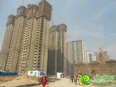 锦绣江南工地实景(2013.11.06)