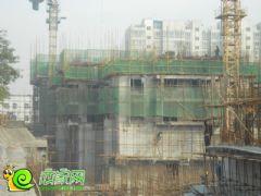 盛锦花园7#8#楼工地实景(2013.11.06)