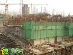 盛锦花园5#楼工地实景(2013.11.06)