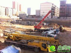 财智天地工地实景(2013.11.07)