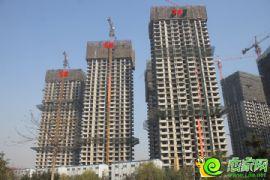 宝盛花语城5#、6#、7#楼已经封顶(2013.11.18)