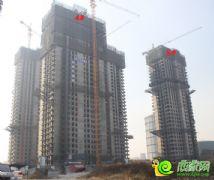 宝盛花语城4#、5#楼已经封顶(2013.11.18)