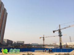 盛瑞华庭工地实景(2013.11.19)
