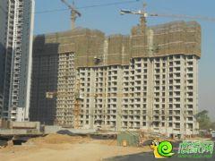 锦绣江南22#、23#楼工地实景(2013.11.28)