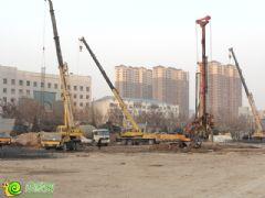 阳光新卓广场工地实景(2014.1.9)