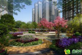 锦绣江南景观组合效果图