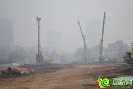 阳光新卓广场工地实景(2014.02.16)