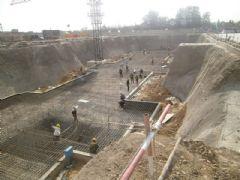 阿尔卡迪亚阳光苑1号楼工程进度(2013.5.17)