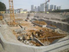 阿尔卡迪亚阳光苑4号楼工程进度(2013.5.17)