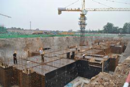 阿尔卡迪亚阳光苑1#工程进度(2013.05.26)