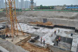 阿尔卡迪亚阳光苑4#工程进度(2013.05.26)