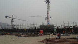 阿尔卡迪亚阳光苑1#工程进度(2013.06.08)