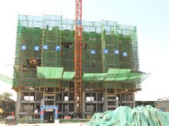 阿尔卡迪亚阳光苑6#工程进度(2013.06.27)