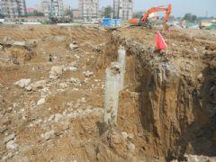 站南旺角工程进度(2013.07.05)