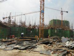 阳光苑4#工程进度图(2013.07.05)