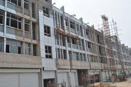 凤凰金街工程进度图(2013.07.09)