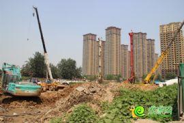 阳光苑3#楼工程进度实景图(2013.08.18)