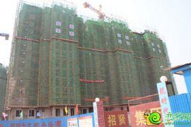阳光苑1#楼工程进度实景图(2013.08.18)