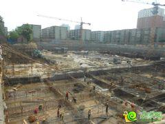 新城国际工程进度实景图(2013.08.31)