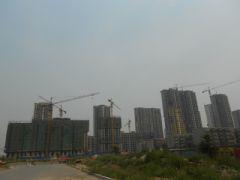 赵都新城3号地实景图